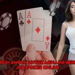 Strategi Ampuh Untuk Menang Bermain Judi Poker Online